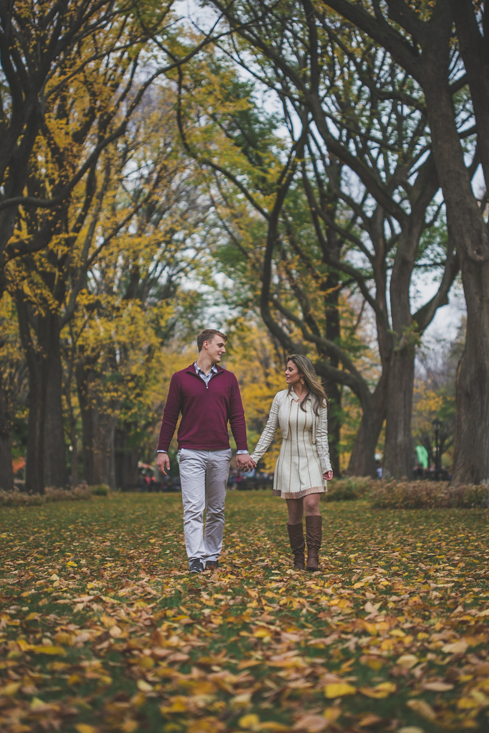engagement session - central park