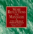 More Reflections for Managers Book Cover