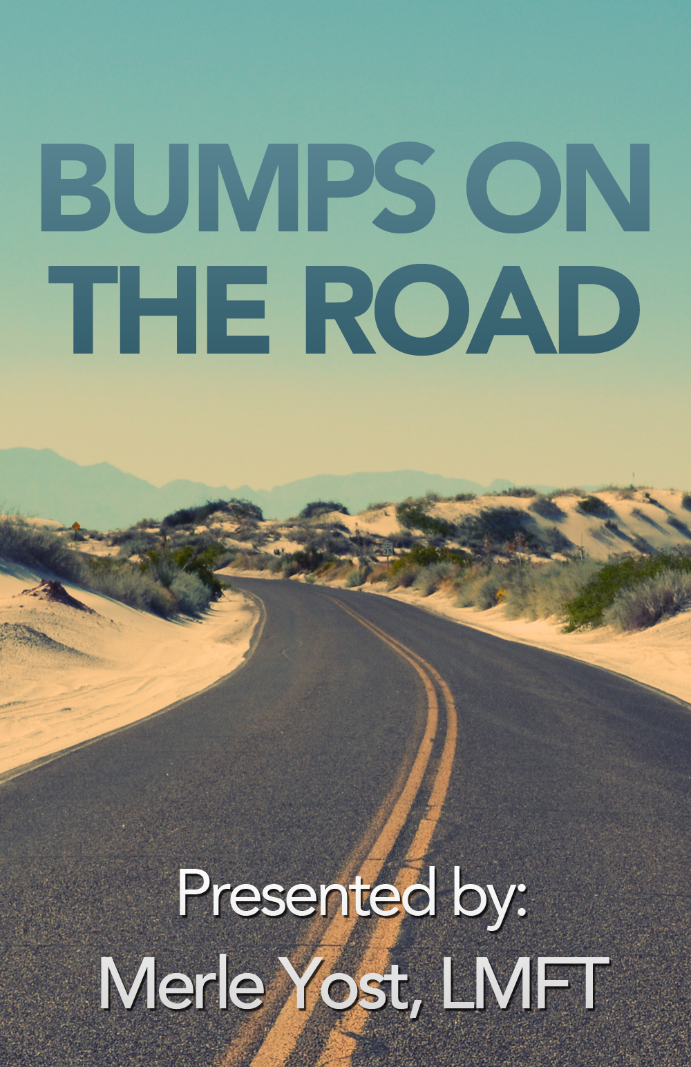 Bumps on the Road Online Workshop Poster