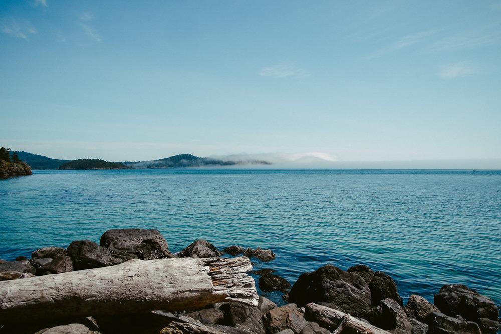A calm Sea on a Sunny Day