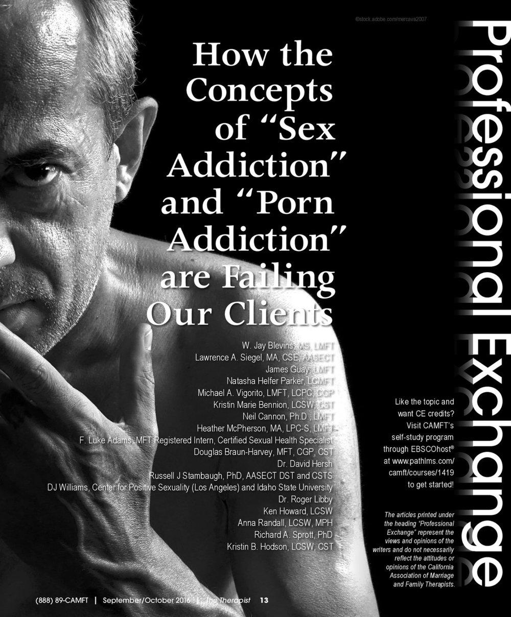 Sex addiction myth