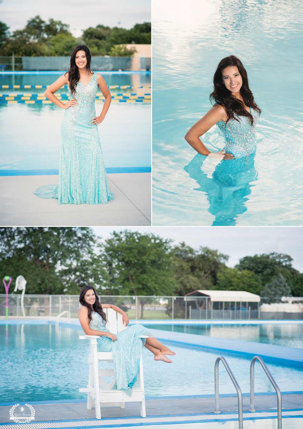 Chelsey garden city ks senior 2016 april harmon for Garden city pool 2015