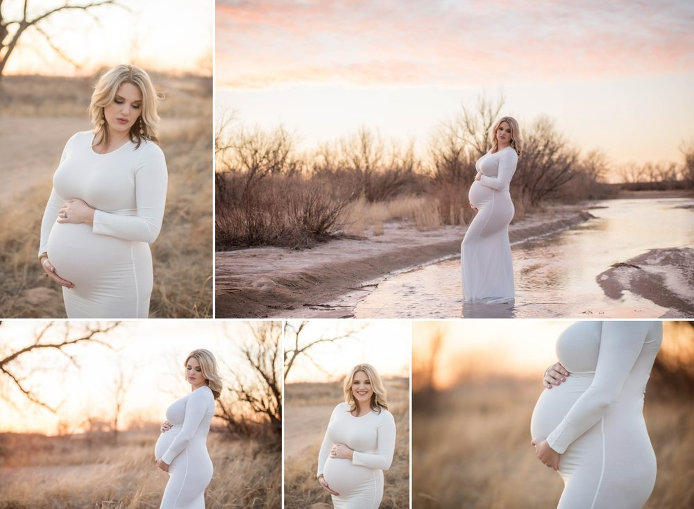 white dress maternity photography southwest kansas 1.jpg