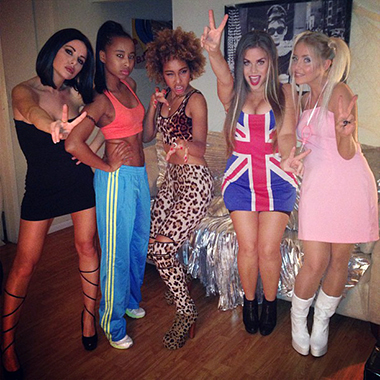 spice girls costumejpg - 5 Girl Halloween Costumes