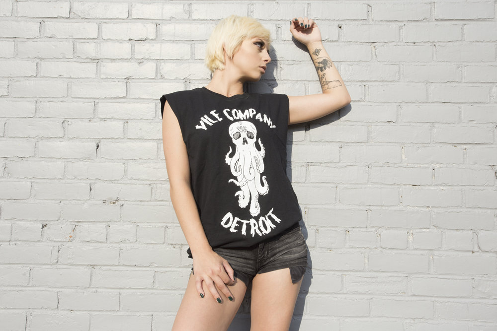 SAMMI_EDIT3_OCTO SKULL TEE_VILE_VILE CO_VILE GIRLS_GIRLS OF VILE COMPANY_DETROIT.jpg