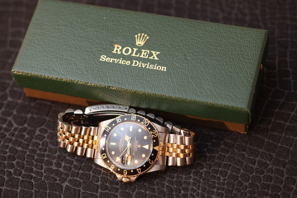Rolex GMT Master 1979 Two Tone
