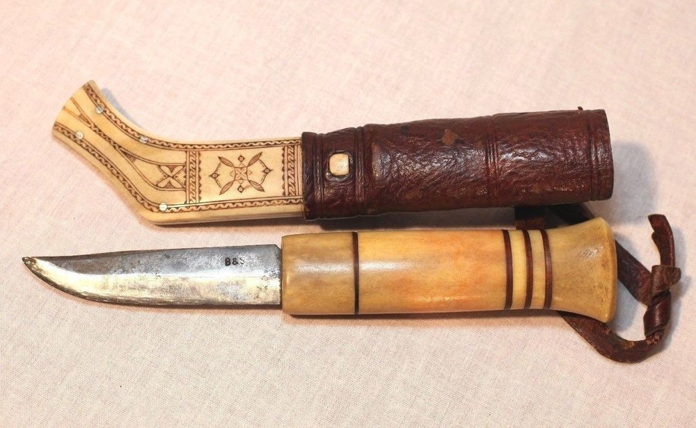 Traditional Finnish Puukko Lapland Knife