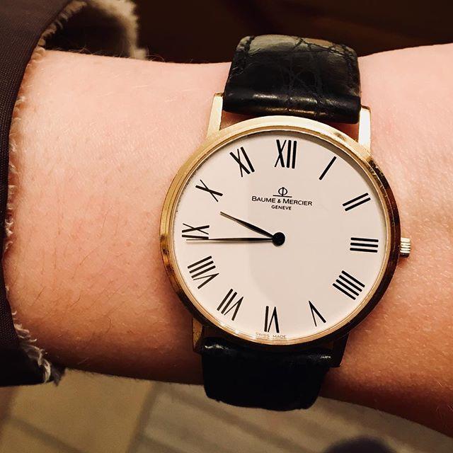 Baume & Mercier #18k #watch #goldwatch #baumeetmercier #worldpawn