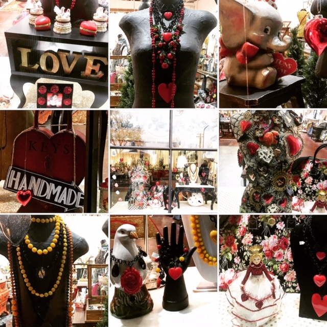 Here's details and the other V-day window. Very fun putting the windows together!