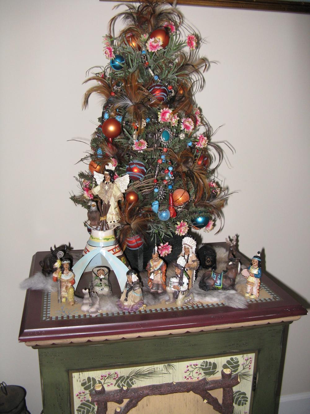Indian Nativity Scene - Gary's work