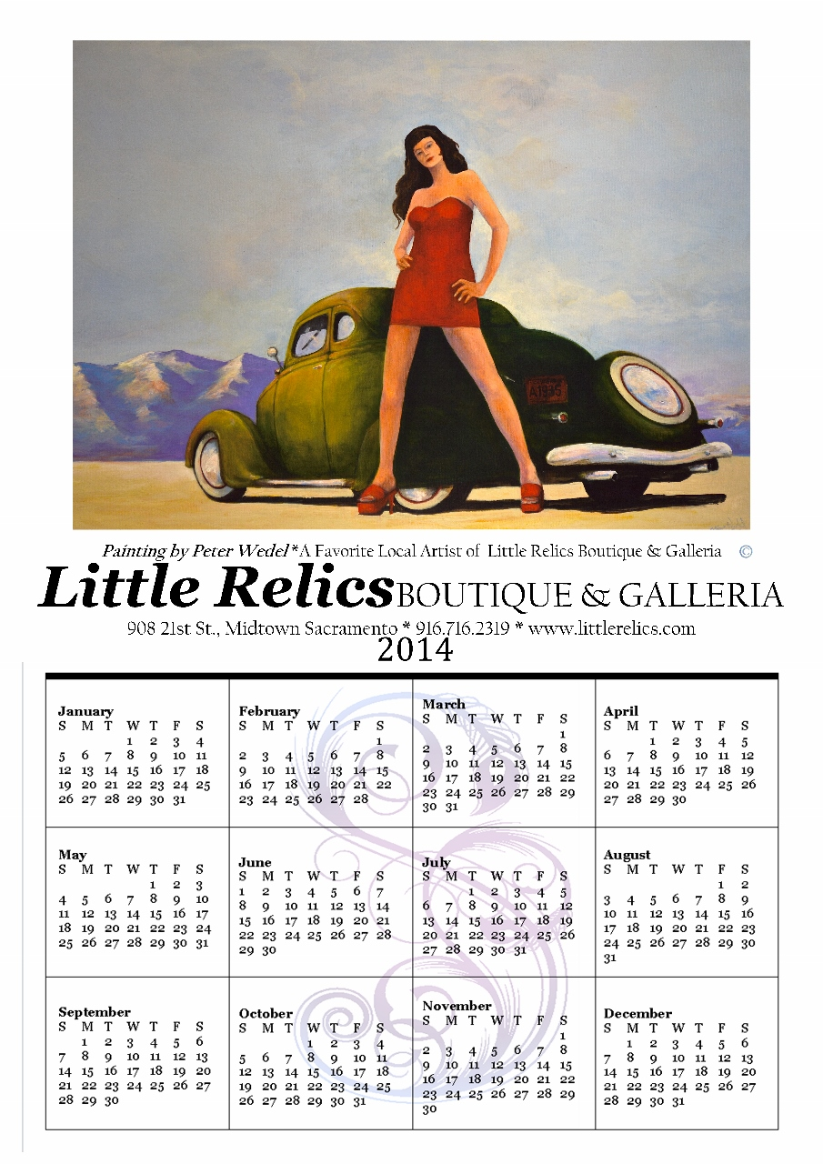 Limited Edition Signed Calendars by Pete Wedel