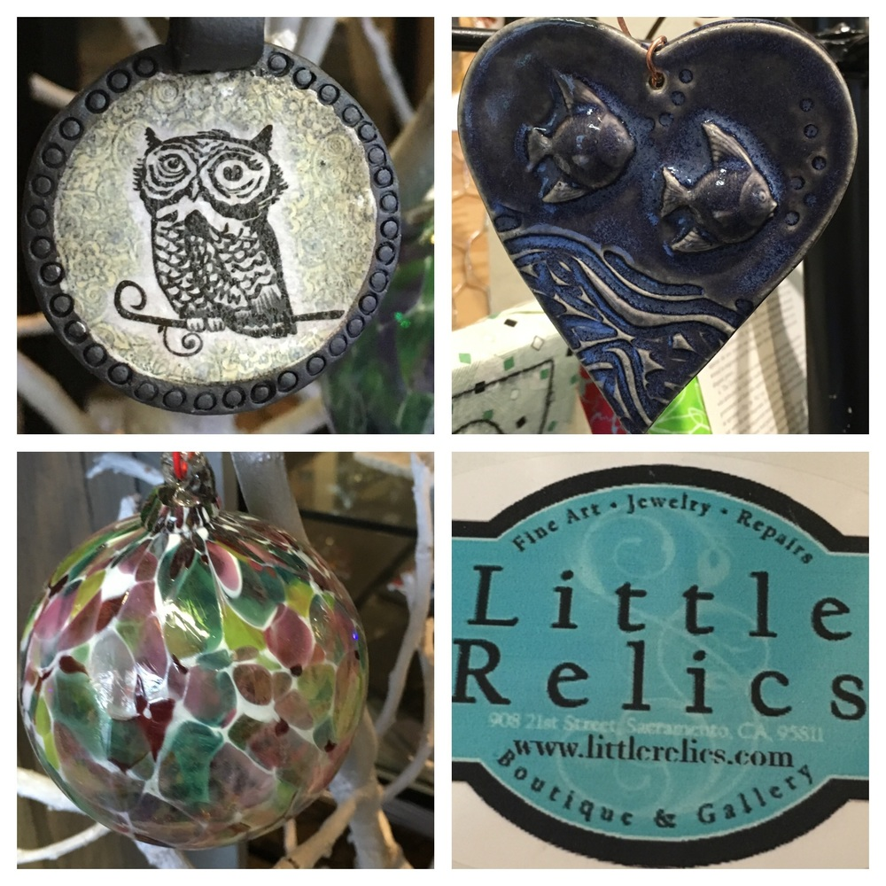 Local handcrafted ornaments $20 each