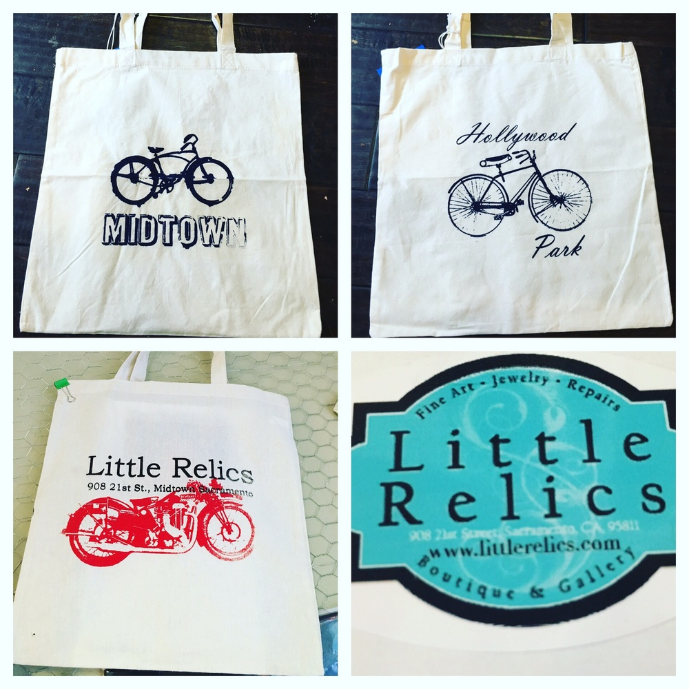 Grocery Bags by local Artists