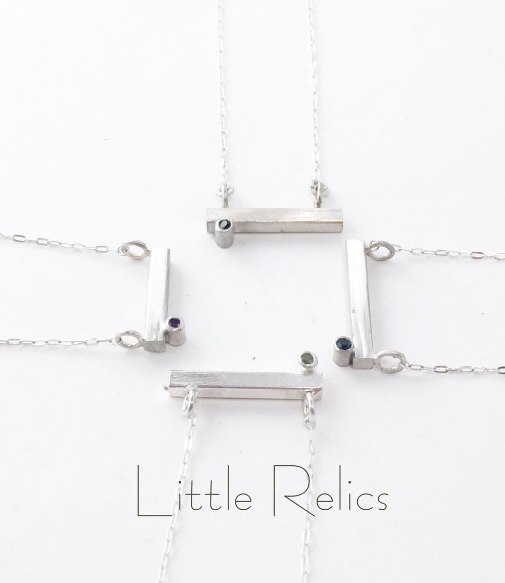 Sterling Silver Minimalism with a bit of Sparkle