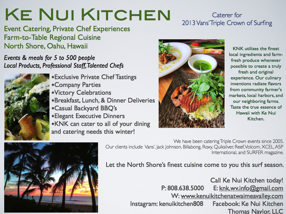 KNK loves Winter on the North Shore! Be sure to call us for ALL of your catering & dining needs this season!