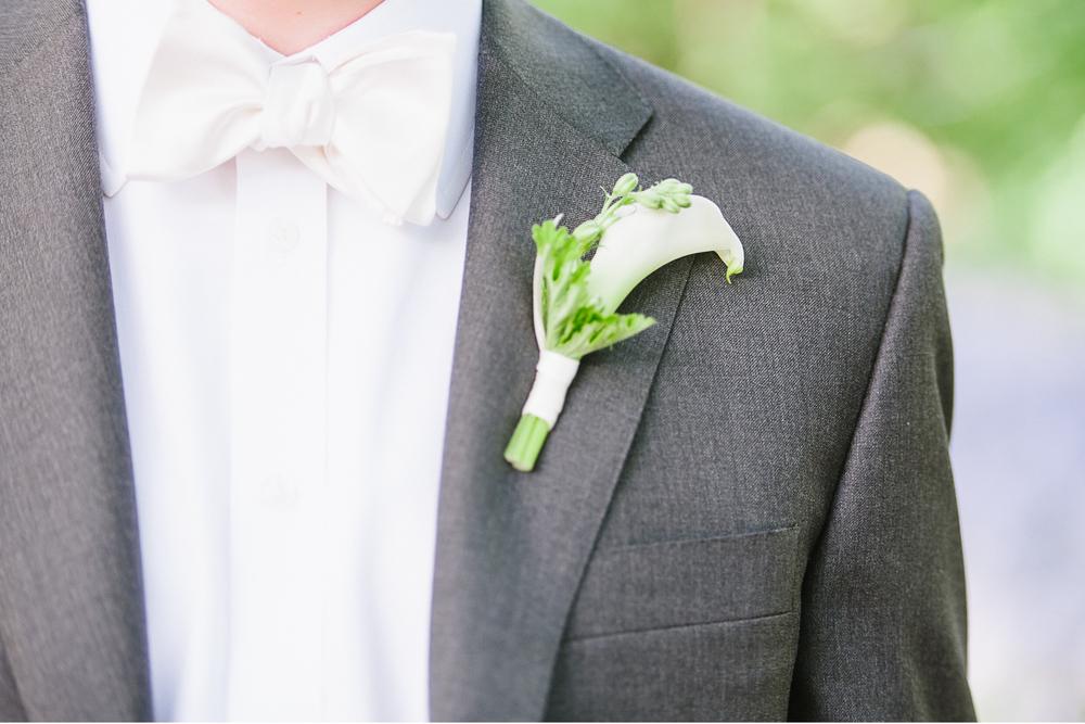 Brooklyn Botanic Garden Wedding Boutonniere