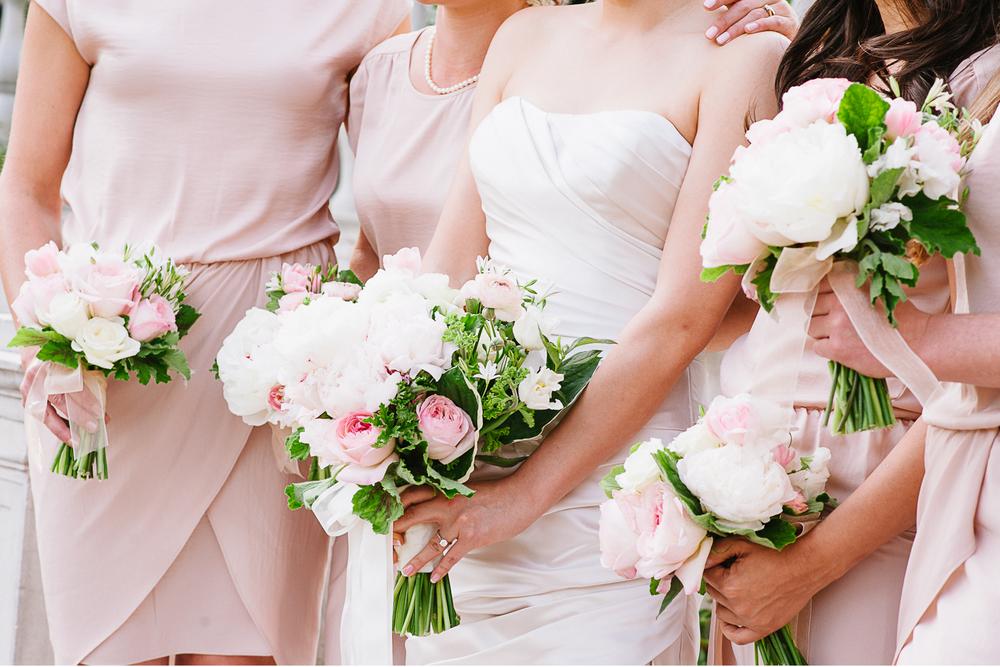 Brooklyn Botanic Garden Wedding Bouquets Flowers