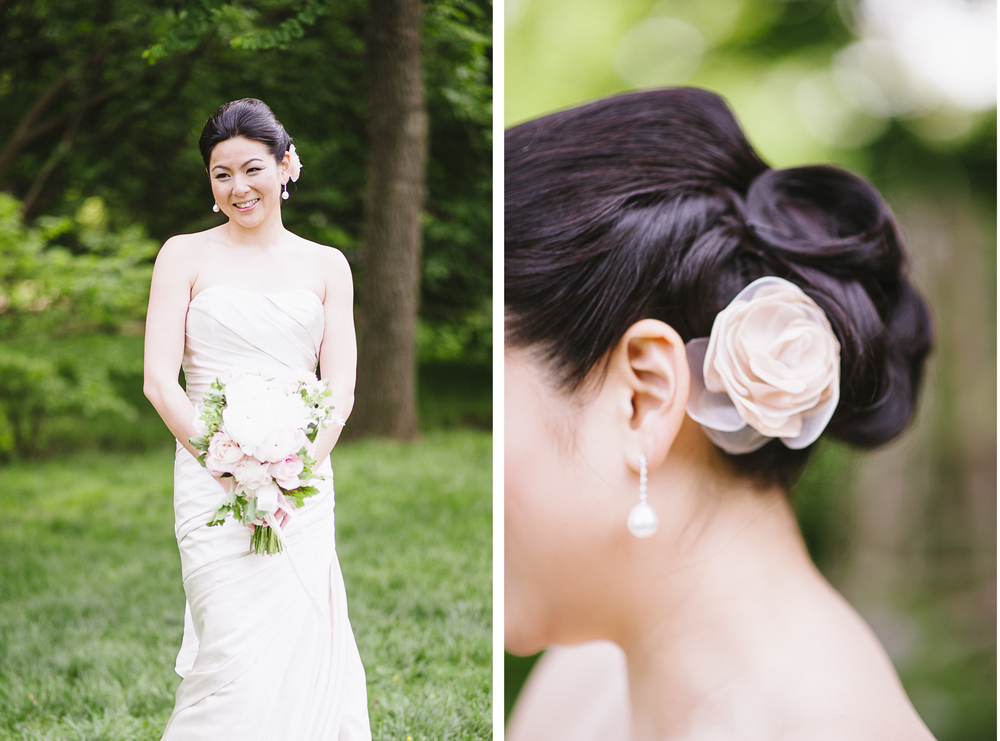 Brooklyn Botanic Garden Wedding Hair Piece