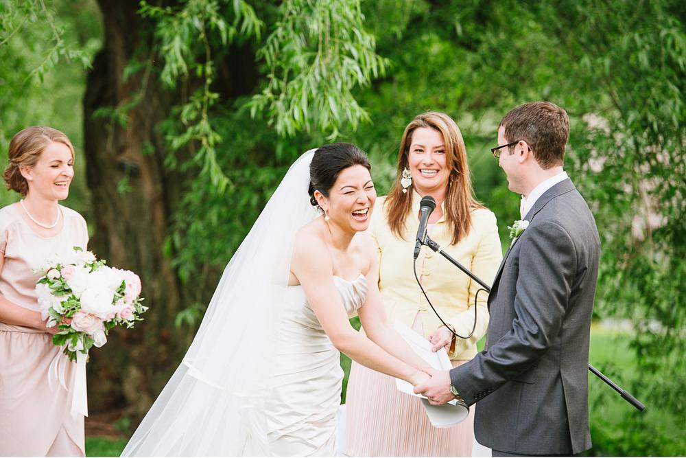 Brooklyn Botanic Garden Wedding Ceremony