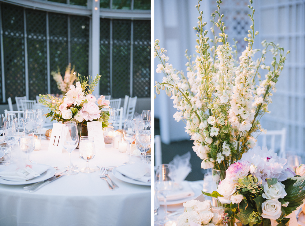 Brooklyn Botanic Garden Wedding Table Arrangements Centerpiece