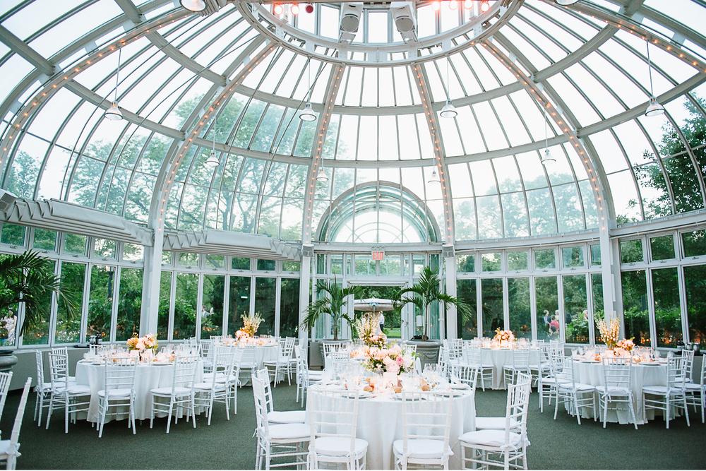 Brooklyn Botanic Garden Wedding Palm House