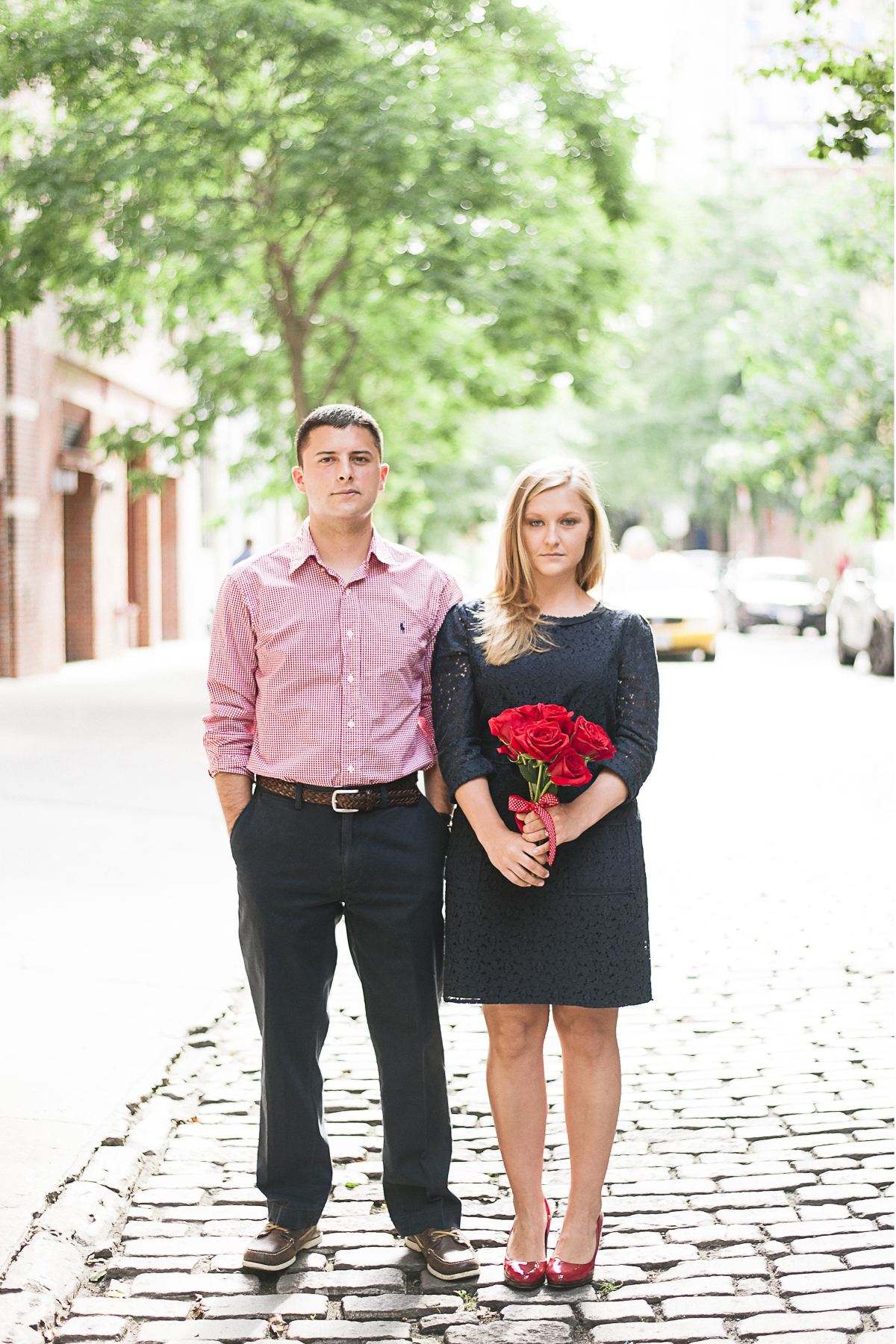 July 4th Engagement Session New York City West Village