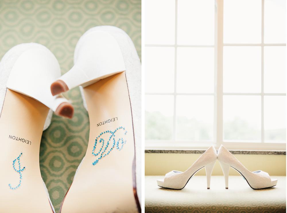Albany NY Farm Wedding Shoes