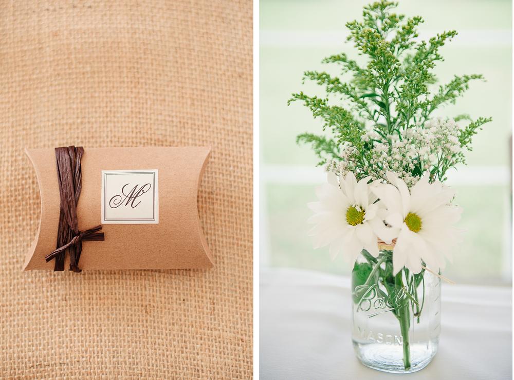 Albany NY Farm Wedding Wild Flowers
