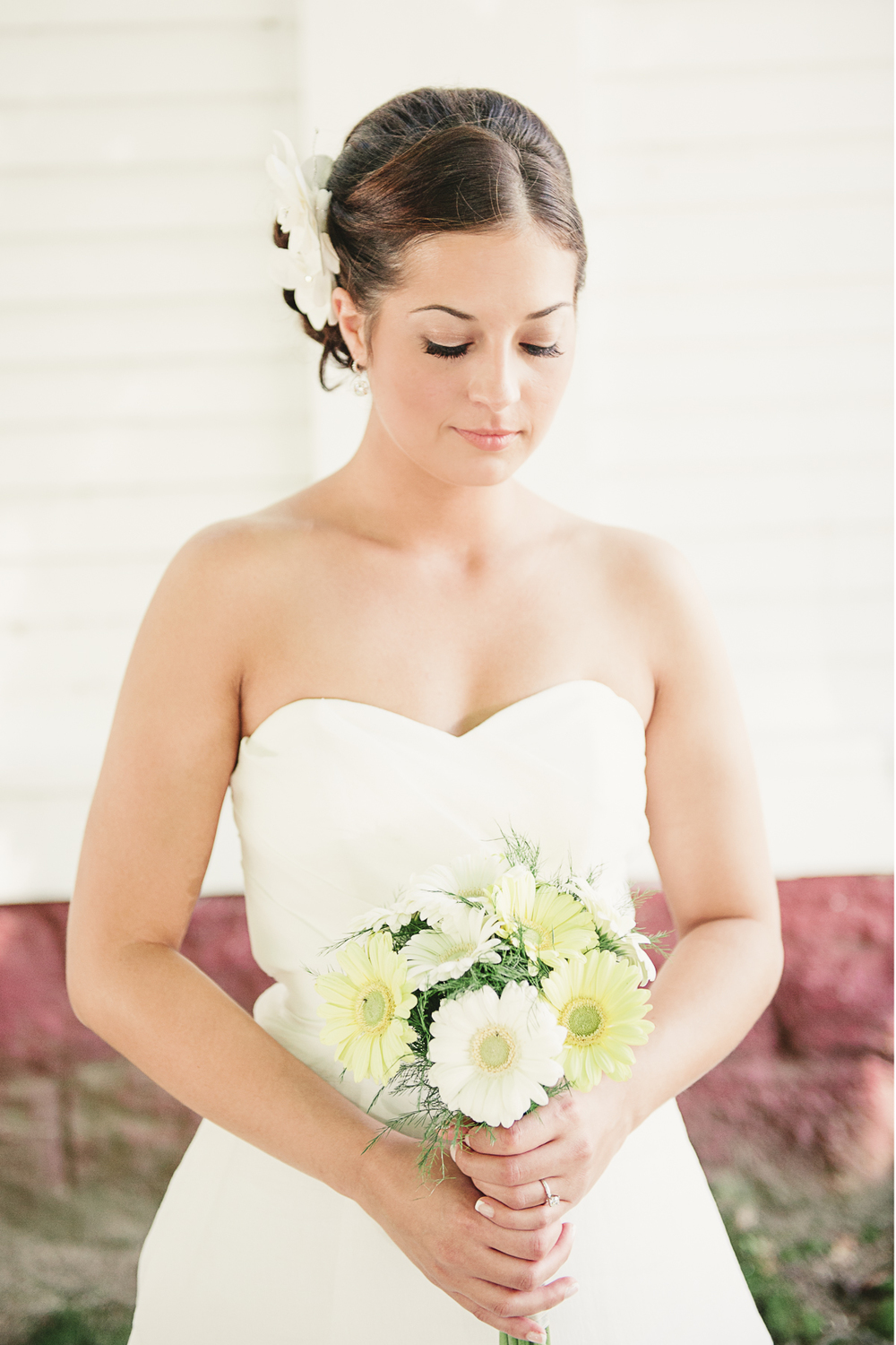 Albany NY Farm Wedding Bride