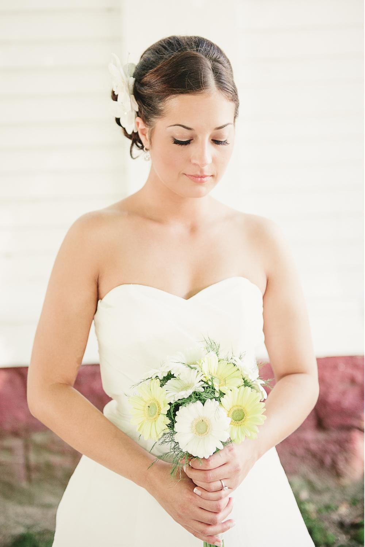 Albany NY Farm Wedding Bride