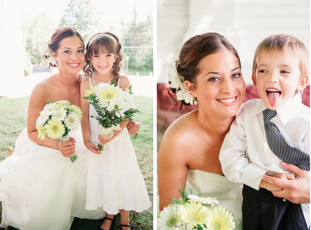 Albany NY Farm Wedding Ring Bearer Flower Girl