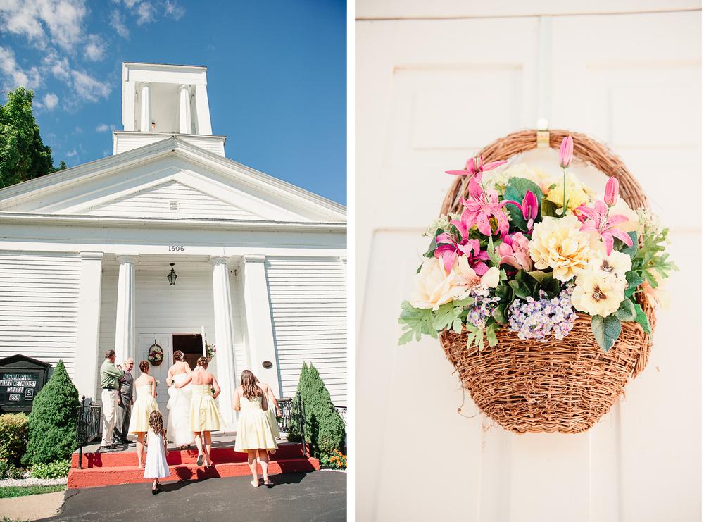 Albany NY Farm Wedding White Chapel