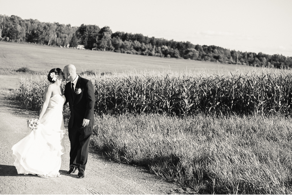 Albany NY Farm Wedding Corn Fields