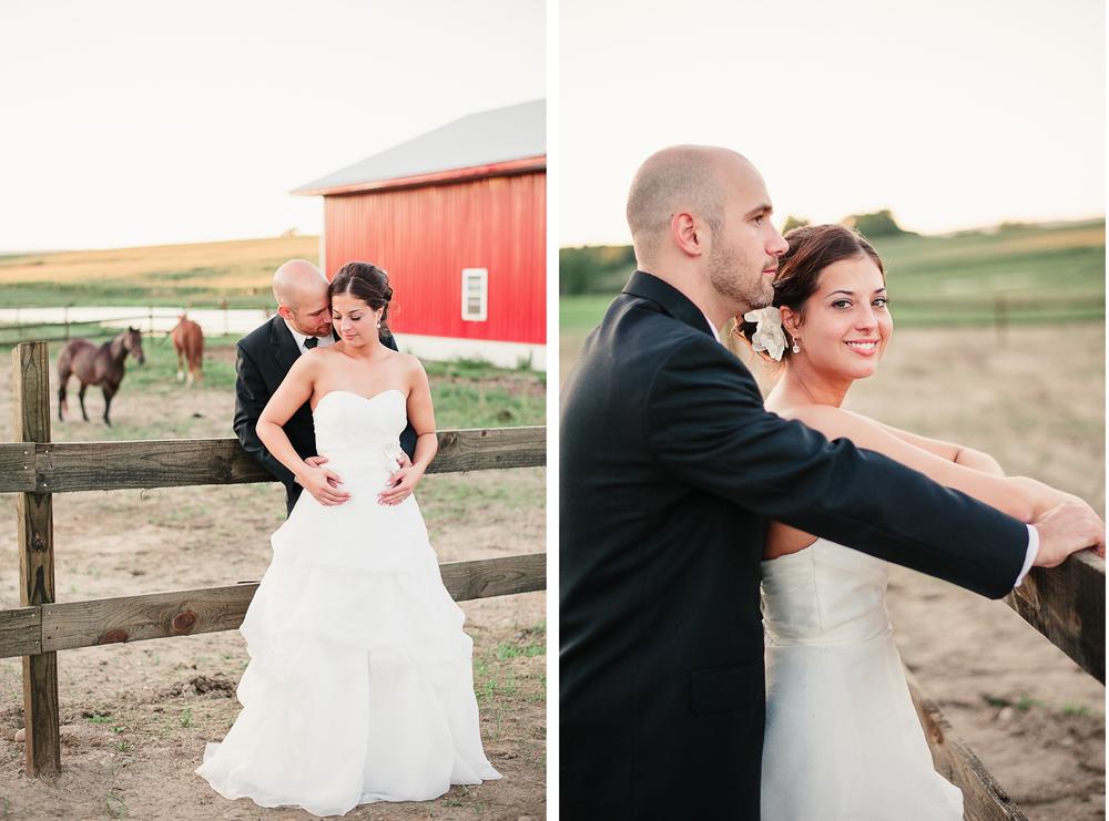 Albany NY Farm Wedding Horse Barn