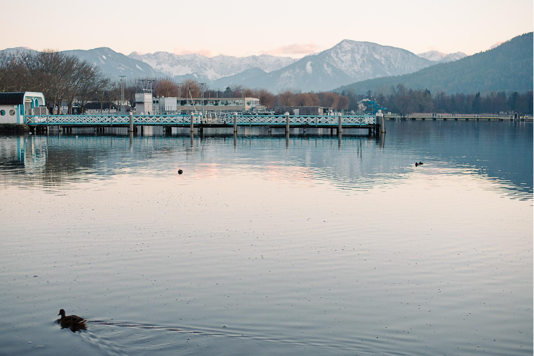 Lake Worthersee Klagenfurt Austria