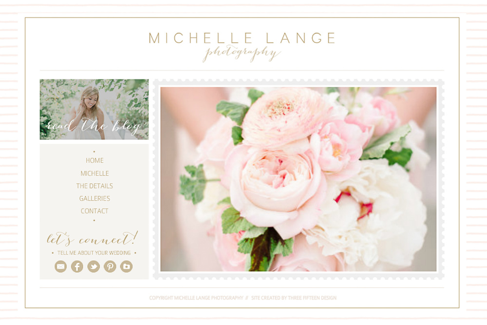 Michelle Lange Photography Website