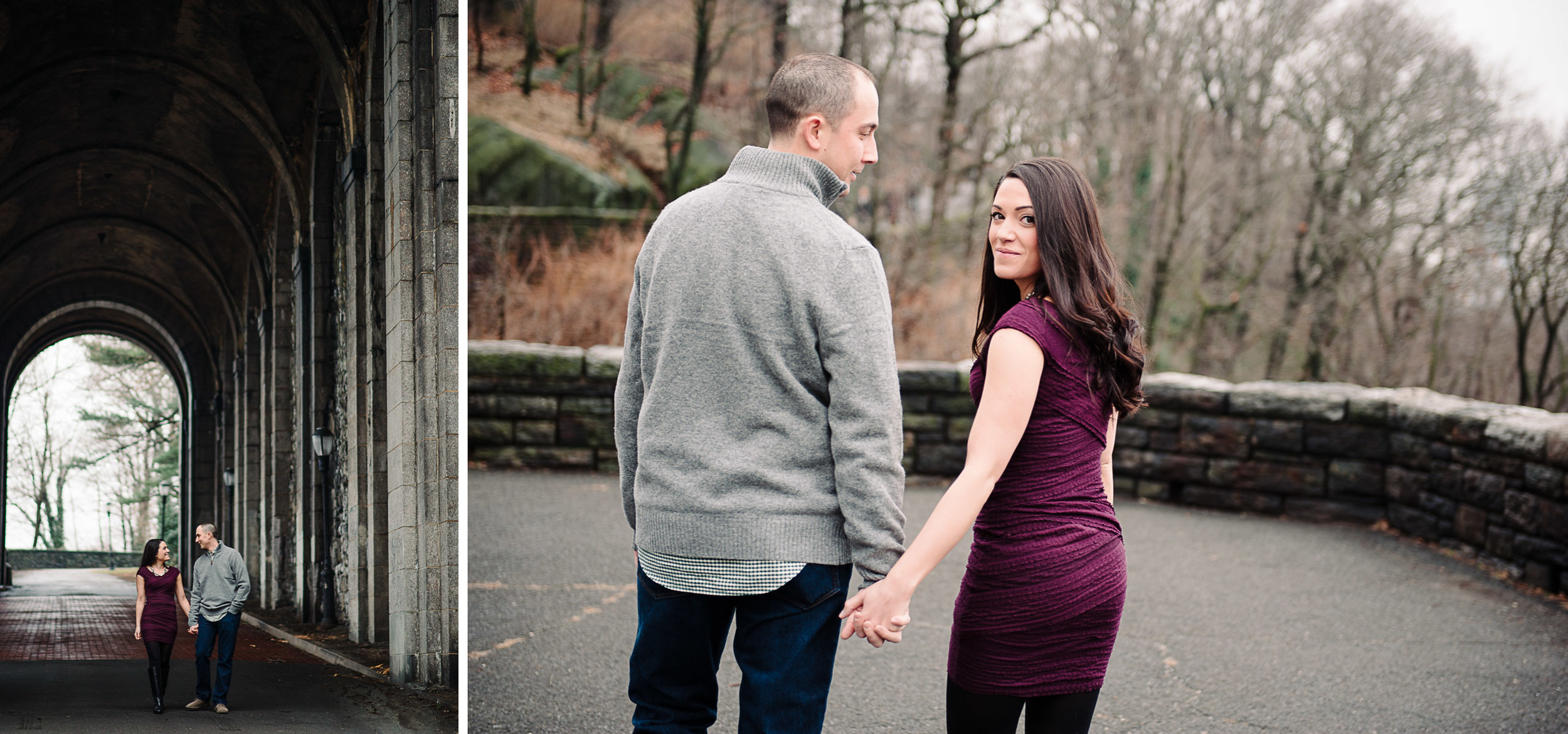 Cloisters Fort Tryon Park Engagement Photography