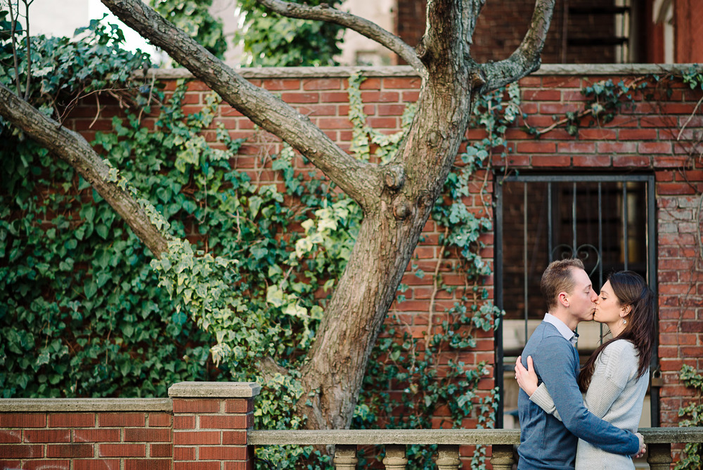 Hoboken Cobblestone Stevens Institute Maxwell Park Engagement