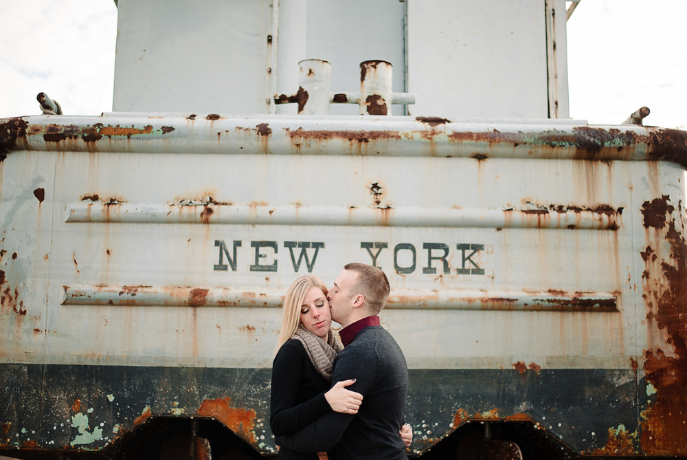 Liberty State Park Engagement Photography