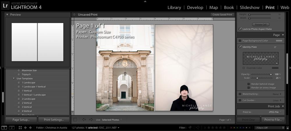 Prepare Blog Images Using Lightroom