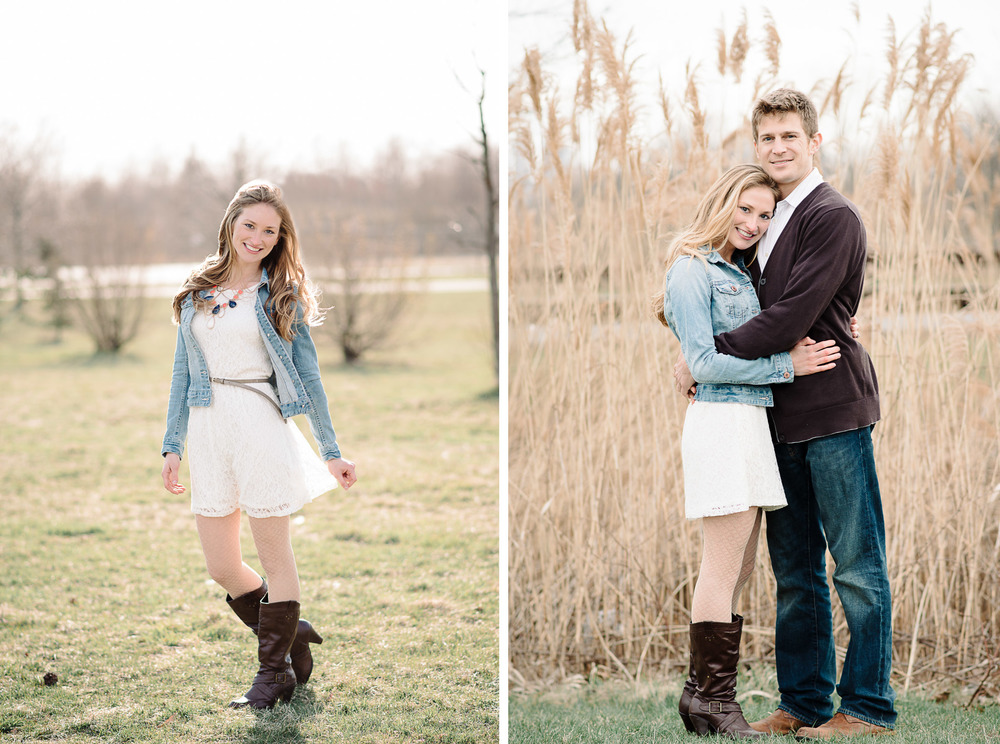 Liberty State Park Engagement Session in Jersey City by Michelle Lange