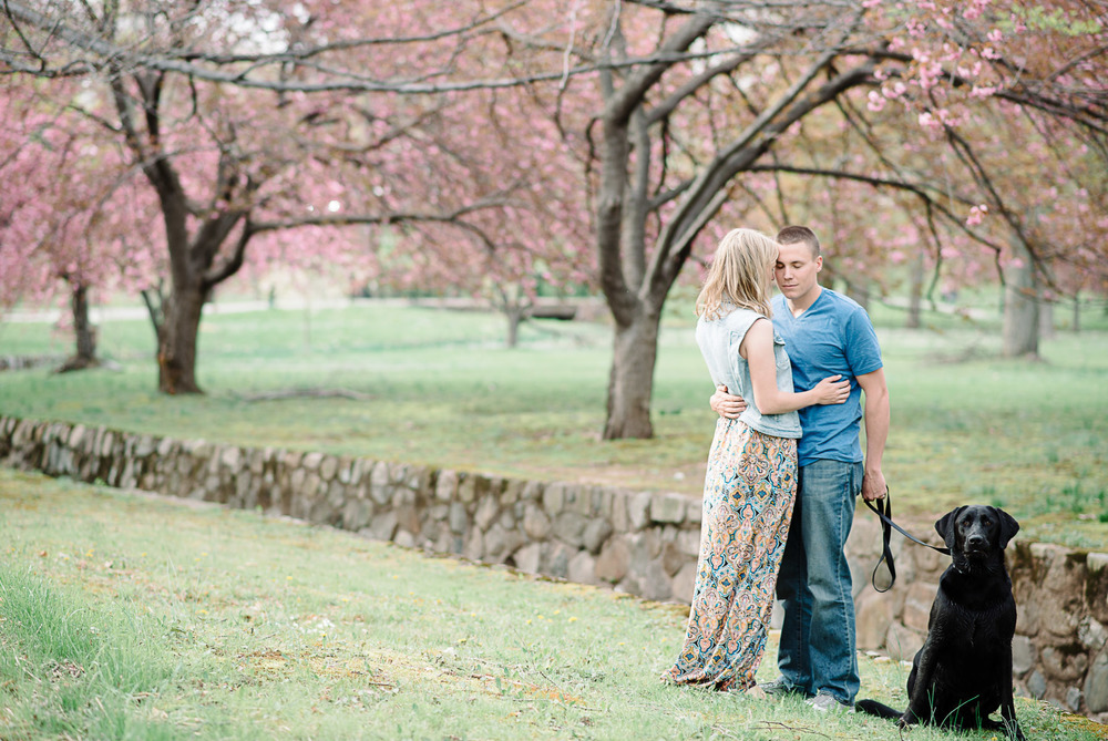 Verona Park Cherry Blossom Love Portrait Photo 4