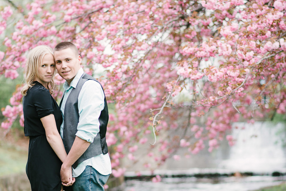Verona Park Cherry Blossom Love Portrait Photo 7