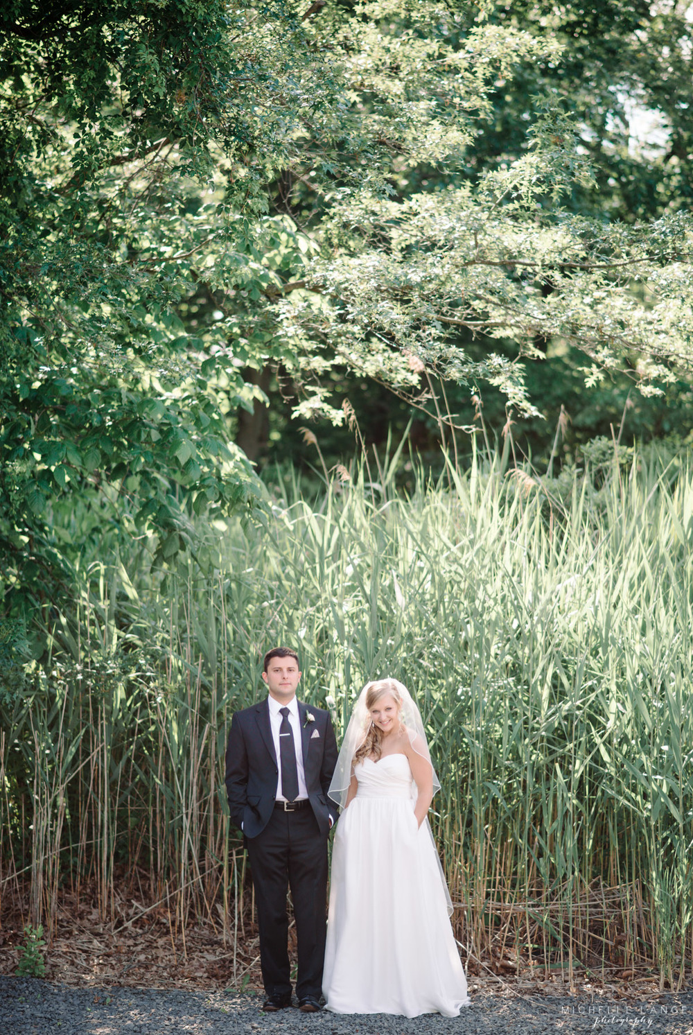 Tall Grass Bride Groom Aqua Turf Club Plantsville CT Wedding by Michelle Lange Photography 25