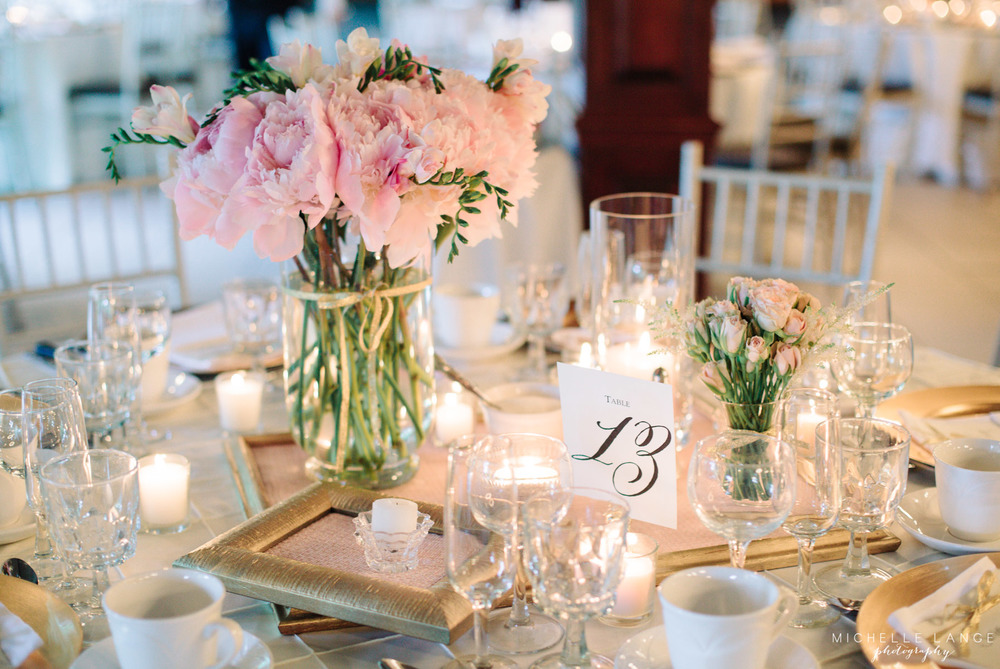 Pink, White and Gold Aqua Turf Club Wedding by Michelle Lange Photography 30