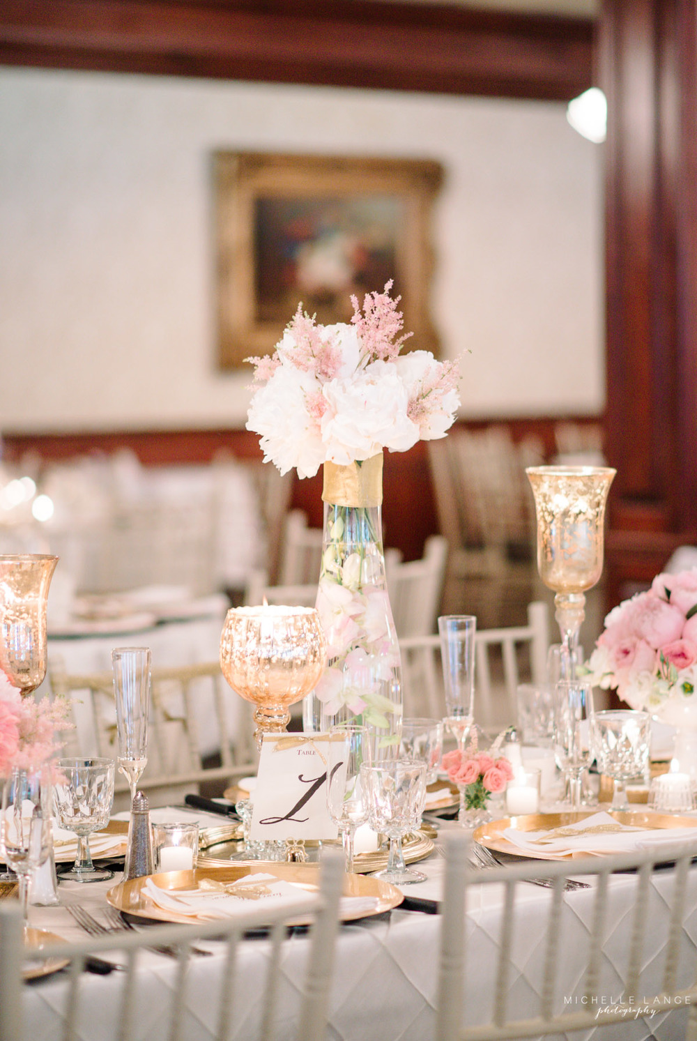 Pink and White Aqua Turf Club Plantsville CT Wedding by Michelle Lange Photography 47