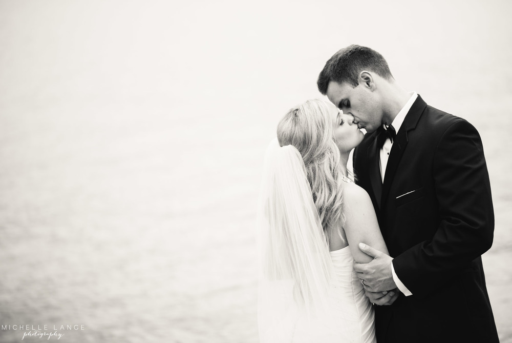 Inn at Erlowest Lake George Coral and Teal Wedding by Michelle Lange Photography 33