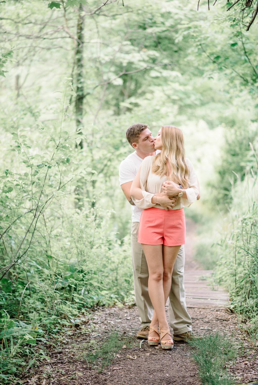 Kissing Celery Farm Allendale NJ Engagement Michelle Lange Photography