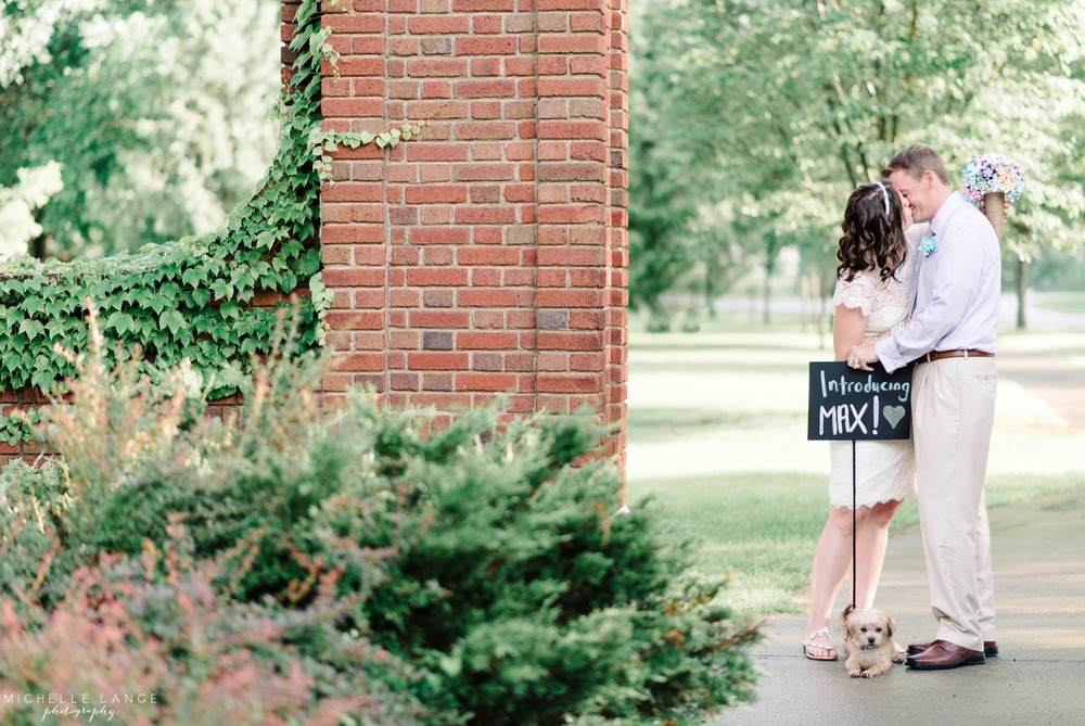 Schenectady Rose Garden Anniversary Session | Michelle Lange Photography