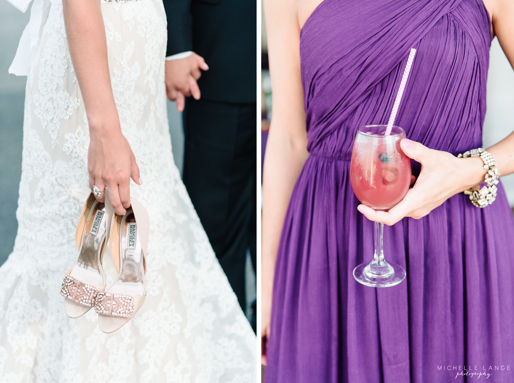 Badgley Mischka Shoes Signature Cocktail Liberty House Jersey City Wedding.jpg